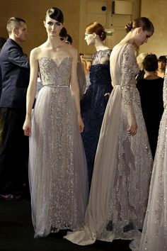 Fashion | Couture Fall 2013 | Runway & Backstage