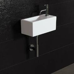 Check out the Bissonnet 20100 Ice 20 Wall Mount Ceramic Sink with Overflow priced at $368.00 at Homeclick.com.