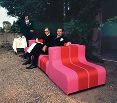 The Sofo sofa, originally designed in 1968, will be reissued by Centro Studi Poltronova this year.