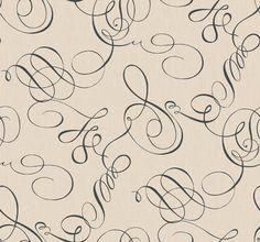 Walt Disney Signature Filigree wallpaper