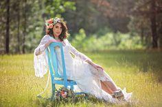 Beautiful boho wedding style