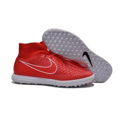 official photos 94172 0bfba Nike MagistaX Poximo Street TF Rood Wit Goedkope Nike MagistaX  Voetbalschoenen Kopen