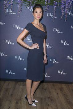 Catalina Denis, una de las elegantes en la cena de Dior, ofrecida en el marco del Festival de Cine de Cannes
