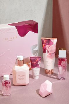 She'd switch a night out for a cosy night in any day, so she's bound to be delighted with this TED Baker Bathed in Roses Toiletries Collection.