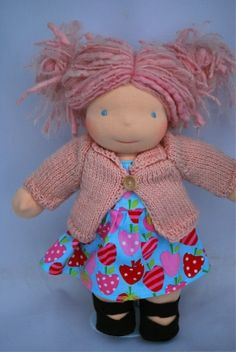Waldorf Doll- need to make another one for baby D when she comes home. <3