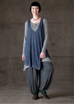 """Durum"" viscose jersey tunic – Blouses & waistcoats – GUDRUN SJÖDÉN – Webshop, mail order and boutiques 