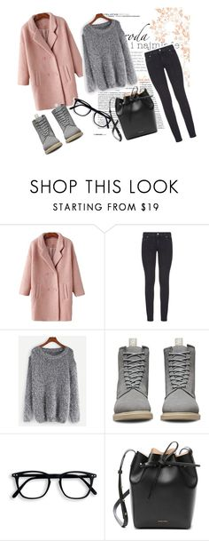 """111"" by elyagilyova on Polyvore featuring мода, Paige Denim, WithChic, Dr. Martens и Mansur Gavriel"