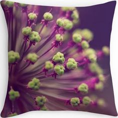 Aubergine and chartreuse sofa pillows - Google Search