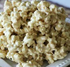 Caramel Marshmallow Popcorn!