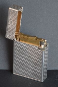 Briquet dupont or massif 18k petit mod le 1943 lighters accendini briquets - Briquet dupont or massif ...