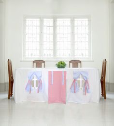 Tablecloth Play House., via Etsy.