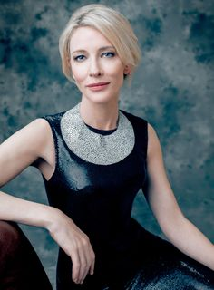 wearing Couture poses for a portrait at the Costume Designers Guild Awards at The Beverly Hilton Hotel on February 2016 in Beverly Hills, California. Cate Blanchett, Designers Guild, Business Portrait, Portrait Pictures, Female Portrait, Lady, Divas, Beauty Women, Actors & Actresses