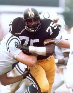 b499ee5a9 Mean Joe Greene (DT- Pittsburgh Steelers Steelers Football