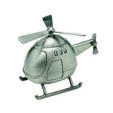 Helicopter baby bank $39 sooo cute for a baby boy!