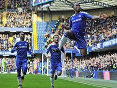 Didier Drogba captains Chelsea on his last game for the club. Legend. #CFC