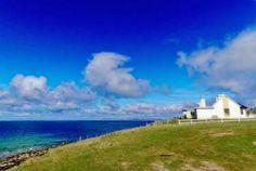 Atlantic Ocean view on Achill Island