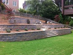 Backyard Designs With Retaining Walls find this pin and more on outdoor living retaining walls Find This Pin And More On Outdoor Living Retaining Walls