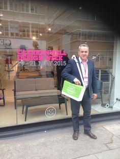 At Clerkenwell Design Week London