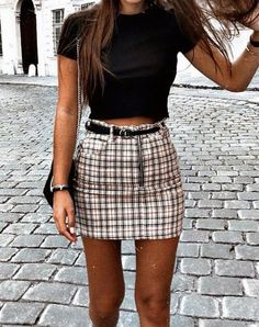 Outfits For Summer cute outfits for summer outfits for teens 2019 outfits Outfits For Summer. Here is Outfits For Summer for you. Outfits For Summer 65 comfy summer outfits to buy right now ffemale. Outfits For Summer 5 disn. Cute Teen Outfits, Teenager Outfits, Unique Outfits, Cute Outfits With Skirts, Plaid Skirt Outfits, Trendy Outfits For Teens, Funky Outfits, Plaid Skirts, Outfits With Tights