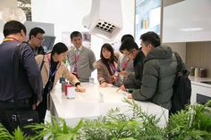 """Wow that's really a hood?""  Here you are people's reactions at ‪#‎elica‬ first show in Appliance & Electronics World Expo (AWE) in Shanghai, China: our future for kitchen appliance."
