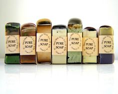 Natural Soaps.  Beautiful and good for your skin.  SoapforyourSoul.com