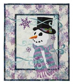 Wanna Build a Snowman? Quilt Kit