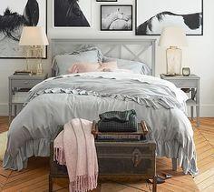 Clara Lattice Bed #potterybarn