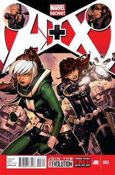 A+X #3 - BLACK WIDOW AND ROGUE VS.SENTINELS! James Asmus and Billy Tan bring together the stars of the two biggest new Marvel series -- GAMBIT AND HAWKEYE SAVE LIVES!