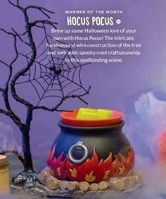 Hocus Pocus!!  September warmer of the month!! Avail 9/1/16 http://jennyhermel5.scentsy.us
