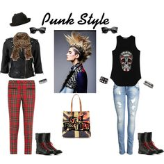 """Punk Style"" by marianariva on Polyvore"