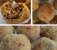 Alsurdelsur: Bolitas de arroz y carne