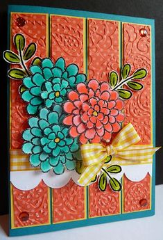 Flower Fest by DJRants - Cards and Paper Crafts at Splitcoaststampers