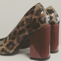 Grrrr.... Chunky heels and wild instincts #mydebour