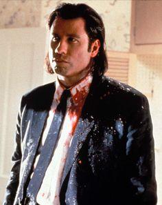 "John Travolta in ""Pulp Fiction"" (1994). DIRECTOR: Quentin Tarantino."