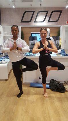 Lorna Jane Yoga class