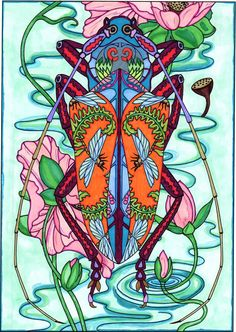 Amazon.com: BellaBella by the sea ~~~'s review of Creative Haven Incredible Insect Designs C...