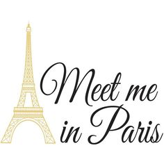 WallPops ''Meet Me In Paris'' Quote Wall Decal (945 RUB) ❤ liked on Polyvore featuring text, words, backgrounds, quotes, paris, filler, article, magazine, phrase and saying