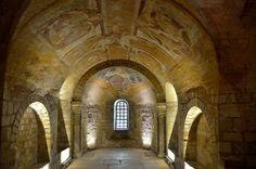 early 11th century - Crypte. Cathédrale Saint-Etienne . Auxerre (Yonne) - Bourgogne, France