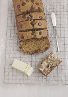 Sweet and savory meet in this chocolate chip zucchini bread recipe