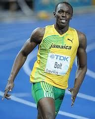 Usain St. Leo Bolt, OJ, C.D., is a Jamaican sprinter widely regarded as the fastest person ever. He is the first man to hold both the 100 metres and 200 metres world records since fully automatic time measurements became mandatory in 1977.