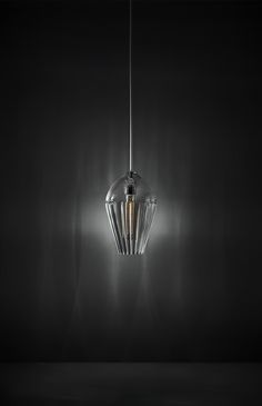 Alba - Suspension - Pure crystal - Design Lamp by ILIDE