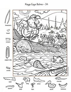 activities for kids teaching English Activities For Kids, Learning English For Kids, English Lessons For Kids, Colouring Pages, Coloring Books, Hidden Pictures Printables, Hidden Picture Puzzles, Fun Worksheets, Alphabet Worksheets