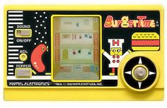BurgerTime! I was addicted to this little handheld game. I would like to get my hands on one again.