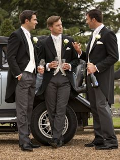 If you have chosen to go for a formal wedding and are looking for formal groom attire theres a great option for you a morning suit. Groomsmen Morning Suits, Wedding Morning Suits, Groom And Groomsmen Attire, Groom Outfit, Wedding Men, Wedding Suits, Wedding Attire, Wedding Dresses, Formal Wedding
