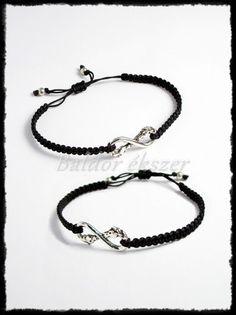 Ezüst lovas barátság karkötő / 2 db Silver Horse, Bff, Personalized Items, Bracelets, Jewelry, Bangles, Jewlery, Jewels, Bracelet