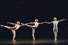 The Royal Ballet in Ashton's Monotones, part of The Australian Ballet 2015 season.