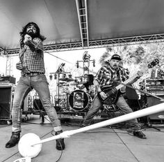 Q & A with rock band 'The Heroine' by Gaffer Power. Learn all about how they used white gaffer tape to help their microphone stand! Gaffer Tape, Rock Bands, Community, Concert, Blog, Amazing, Check, Recital, Concerts