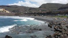 Playa del Roque. San Felipe. Gran Canaria