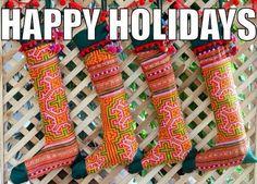 Hmong stockings
