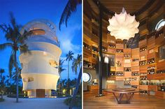 Towering Tropical Eateries - Tavaru is a Restaurant and Bar Located on a Maldives Private Island (GALLERY)